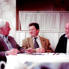 Brian Sewell, Sir Timothy Ackroyd & Peter O'Toole